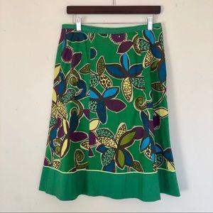 Beautiful fun Boden summer floral skirt size 6